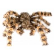 Halloweenaccessoires: Mega grote harige spin 65 cm buigbaar