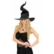 Halloweenaccessoires heksenhoed gekke heks