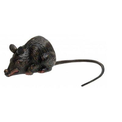 Halloweenaccessoires enge rat 10cm