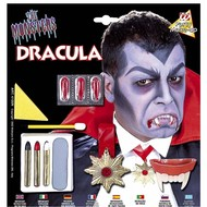 Halloweenaccessoires monster mania set de luxe