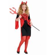 Halloweenkleding: Duiveltje
