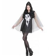 Halloweenkleding jurk schreeuwende geest