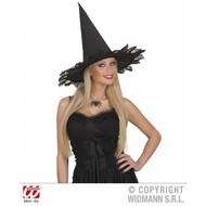 Halloweenaccessoires:Halsketting met spin