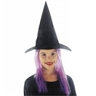 Halloweenaccessoires: Heksenhoeden voor kinderen