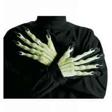 Halloweenaccessoires: Handschoenen Heks