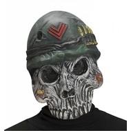Halloweenaccessoires masker schedel leger