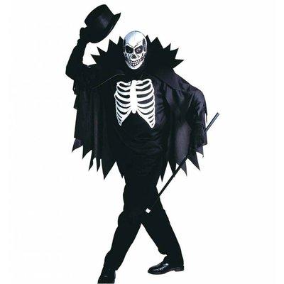 Halloweenkleding: Mister Skeleton gentleman