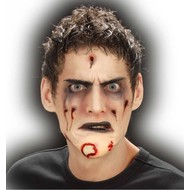 Horroraccessoires: Zombie-huid (kin)