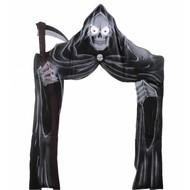 Halloweenartikelen deurdecoratie grimreaper