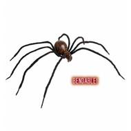 Halloweenaccessoires buigbare spin met bloed 60cm