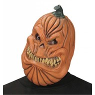 Halloweenaccessoires masker pompoen