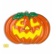 Halloweenaccessoires pompoen decoratie 3d neon 56x41 cm