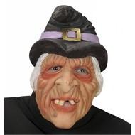 Halloweenaccessoires: Vreslijke heksen maskers