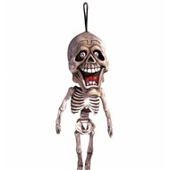 Horroraccessoires: Hangend skelet 60 cm