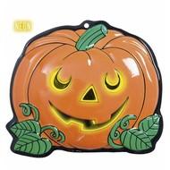 Halloweenaccessoires wanddecoratie pompoen