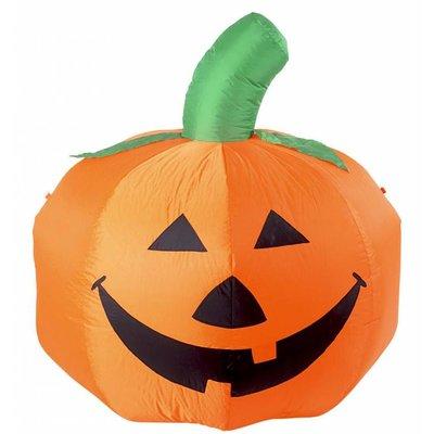 Halloweenartikelen opblaasbare pompoen met licht 122cm gebruik binnen
