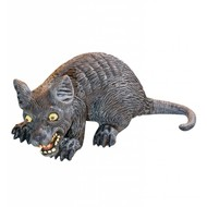 Halloweenaccessoires enge rat 32cm