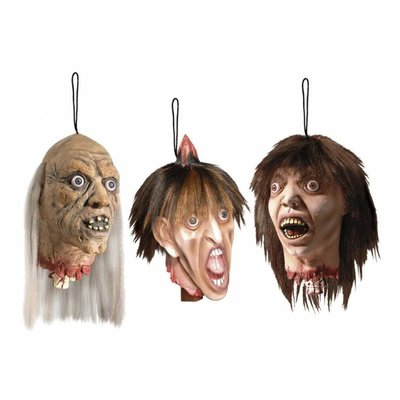 Onthoofd hoofd als bloederige horror decoratie