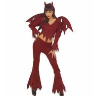Halloweenkleding woeste duivel