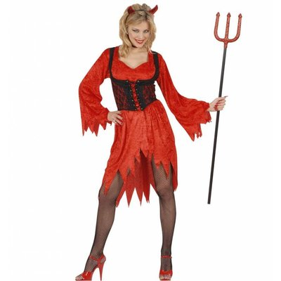 Sexy Duivelinnen jurkjes voor halloween