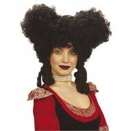Halloweenaccessoires: Pruik Barok