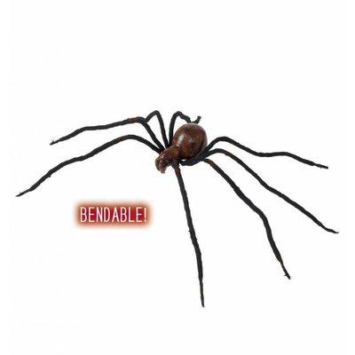 Halloweenaccessoires buigbare spin met bloed 86cm