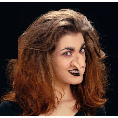 Heksenneus met lijm voor voor Halloween