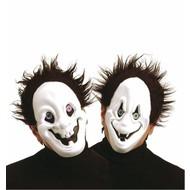 Halloweenaccessoires: Geesten masker