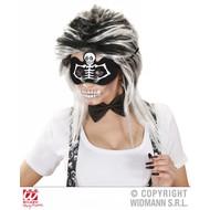Halloweenartikel oogmasker skelet