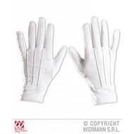Halloweenaccessoires zwarte handschoenen