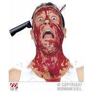 Horrorgadget: Mes door het hoofd