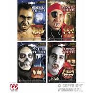 Halloweenaccessoires: Verschillende tanden