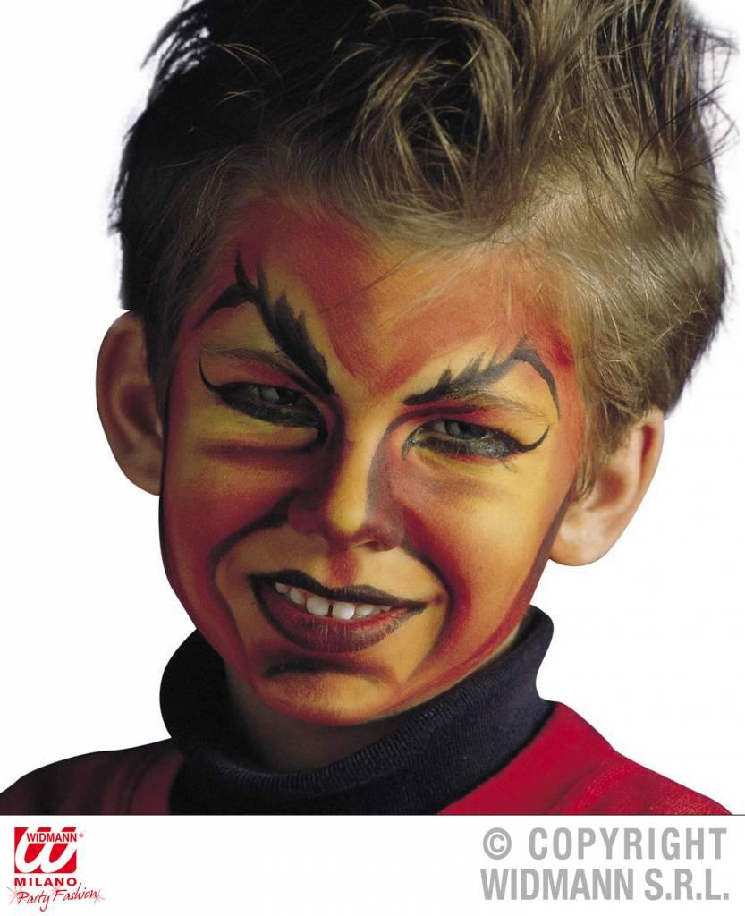 Halloween Schmink Kind.Duivel Make Up Jkf17 Bitlion