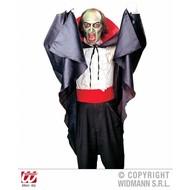 Halloweenaccessoires cape met kraag