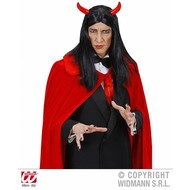 Halloweenartikel pruik Duivel