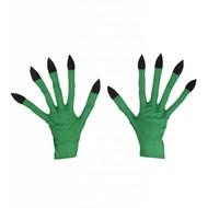 Halloweenaccessoires handschoenen heks