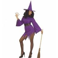 Halloweenkleding: Purple Witch