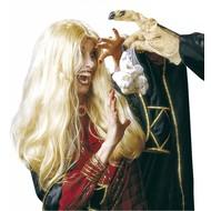 Halloweenaccessoires: Pruik Morgania