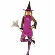 Halloweenkleding spicy witch