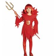 Halloween: Duivelinnetjes jurkjes