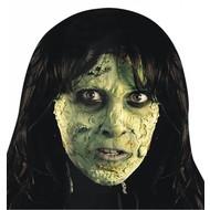 Halloweenaccessoires tube groen horror vlees