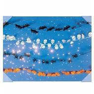Halloweenaccessoires halloween pvc guirlande 7.60mtr