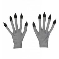 Halloweenkostuum handschoenen vampier/zombie