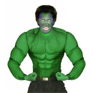 Halloweenkostuum spierenshirt groen