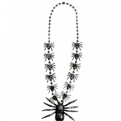 Halskettingen met spinnen voor Halloween
