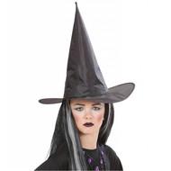 Halloweenaccessoires: Heksenhoed kind