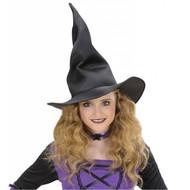 Halloweenaccessoires: Maffe heksenhoed kind