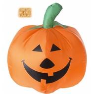 Halloweenaccessoires: Opblaasbare pompoen met luchtcompressor (45 cm)