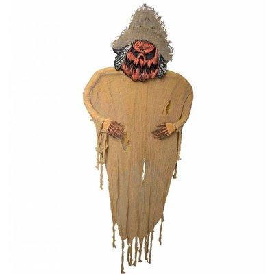 Halloweenartikelen vogelverschrikker 190cm