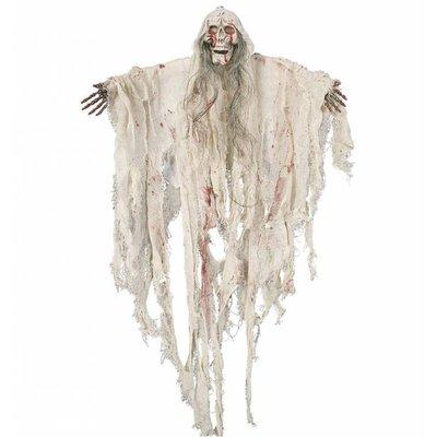 Halloweenartikelen geest met bloed besmeurd